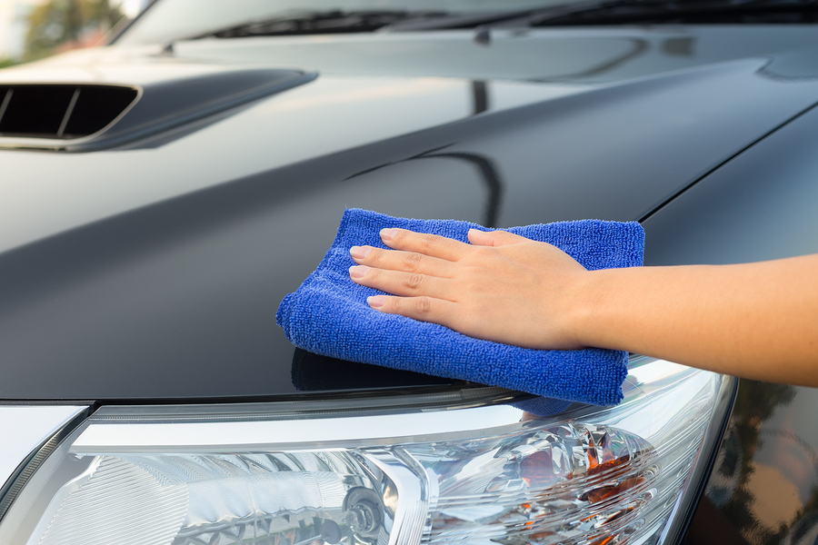 Mobile Waterless Car Wash